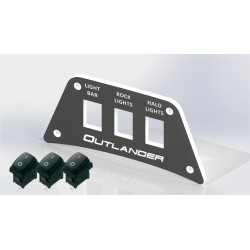 "Switch plate Can-am Outlander ""panel only"""